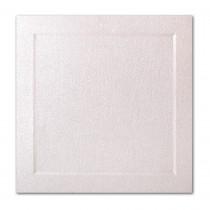 Gruppo Cordenons Stardream Coral 6 1/4 Square Bevel Panel Card