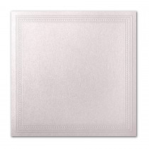 Gruppo Cordenons Stardream Coral 7 1/4 Square Imperial Embossed Border Card