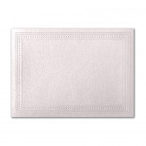 Gruppo Cordenons Stardream Coral A2 Imperial Embossed Border Card