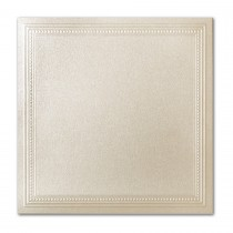 Gruppo Cordenons Stardream Opal 7 1/4 Square Imperial Embossed Border Card