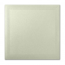 Gruppo Cordenons Stardream Serpentine 7 1/4 Square Imperial Embossed Border Card