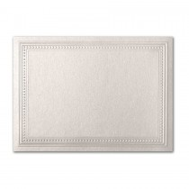 Gruppo Cordenons Stardream Quartz A7 Imperial Embossed Border Card