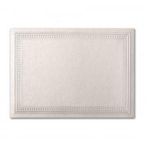 Gruppo Cordenons Stardream Quartz A7 Imperial Embossed Border Card