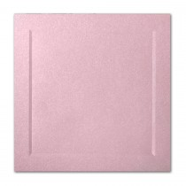 Gruppo Cordenons Stardream Rose 6 1/4 Square Bevel Panel Card