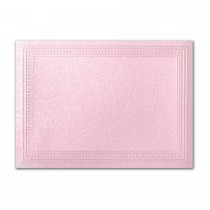 Gruppo Cordenons Stardream Rose A2 Imperial Embossed Border Card
