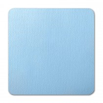 Neenah Eames Furniture Pacific Blue 7 1/4 Square Round Corner Card