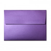 Gruppo Cordenons So?Silk Fashion Purple A1 (4 Bar Square Flap) Envelope