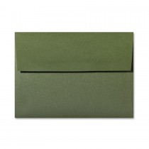 Gruppo Cordenons So?Wool Green Loden A1 (4 Bar Square Flap) Envelope