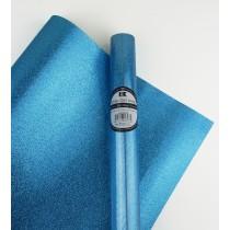 """Glitter Gift Wrap Sky Blue 30"""" x 36""""  Roll"""
