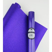 "Glitter Gift Wrap Purple 30"" x 36""  Roll"