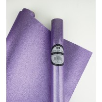 "Glitter Gift Wrap Lavender 30"" x 36""  Roll"