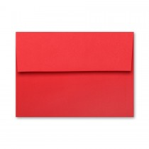Mohawk BriteHue Red A1 (4 Bar Square Flap) Envelope