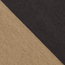 """12 1/2"""" x 19"""" 170# Cover Ruche Black/Natural Sheets Pack of 50"""