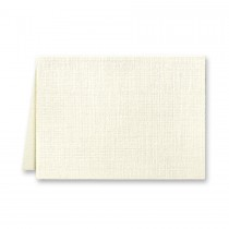 Classic Linen Classic Natural White Escort/Enclosure No Panel Folder