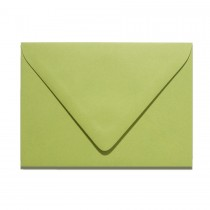 4 Bar Euro Flap Gmund Colors 03 Olive Green Envelopes Pack of 50