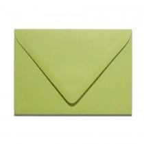 A7 Inner Ungummed Euro Flap Gmund Colors 03 Olive Green Envelopes Pack of 50