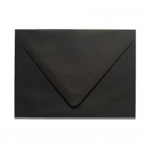 A7 Euro Flap Gmund Colors 10 Ebony Envelopes Pack of 50