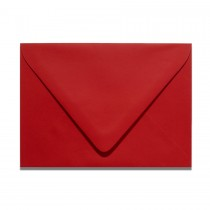 A2 Euro Flap Gmund Colors 54 Scarlet Red Envelopes Pack of 50