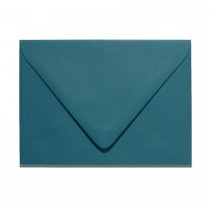 4 Bar Euro Flap Gmund Colors 91 Dark Teal Blue Envelopes Pack of 50