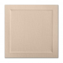 Neenah Eames Painting Eames Natural White 6 1/4 Square Bevel Panel Card