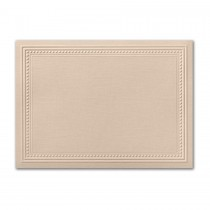 Neenah Eames Painting Eames Natural White A2 Imperial Embossed Border Card