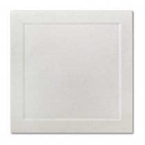 Neenah Eames Painting Eames White 6 1/4 Square Bevel Panel Card