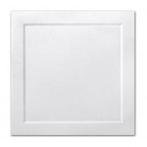 Gruppo Cordenons Malmero Perle Blanc 6 1/4 Square Bevel Panel Card