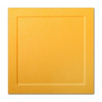 Gruppo Cordenons Malmero Perle Mangue 6 1/4 Square Bevel Panel Card