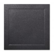 Gruppo Cordenons Malmero Perle Noir 6 1/4 Square Bevel Panel Card