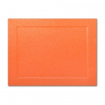 Gruppo Cordenons Malmero Perle Orange A7 Bevel Panel Card