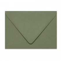 4 Bar Euro Flap 80# Text Mohawk Renewal Hemp Flower Rough Finish Envelopes Pack of 50