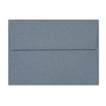 A6 Square Flap 80# Text Mohawk Renewal Recycled Cotton Denim Envelopes Pack of 50
