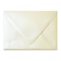 4 Bar Euro Flap 80# Text Esse Pearlized Latte Envelopes Bulk Pack of 250