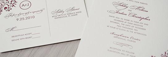 Letterpress paper & Cotton Paper for invitations